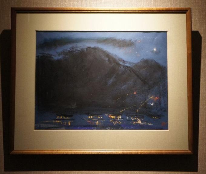加藤東一の絵画