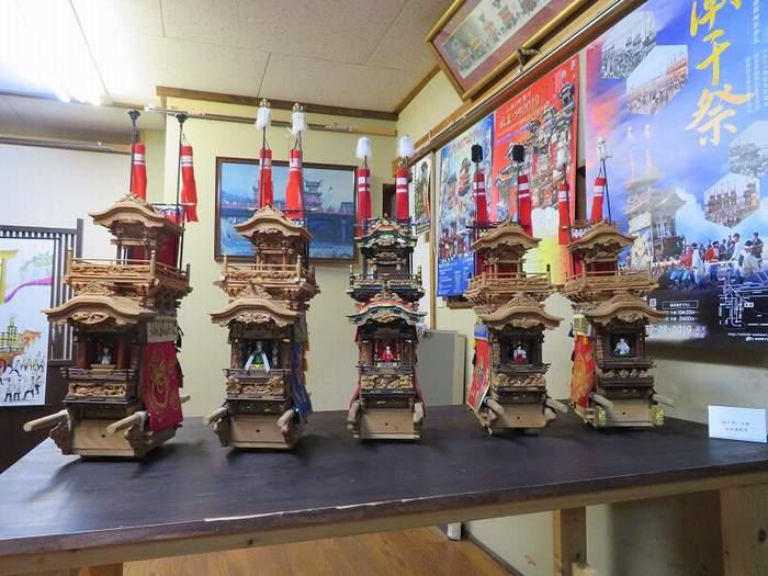 美術コレクション(立川彫刻山車模型)