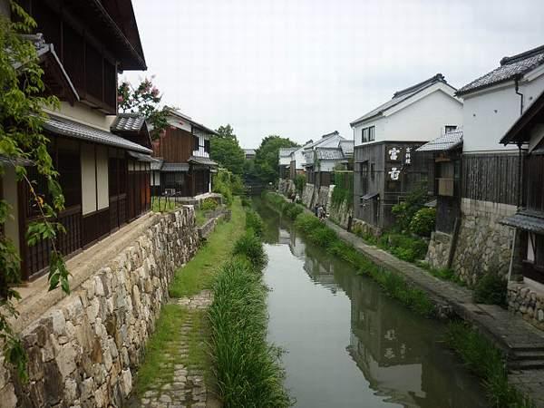 八幡堀(近江八幡市の史跡)